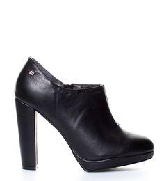 b0aa78d7b46 Aliexpress.com  Comprar Mustang Zapatos abotinados Agathe negro Altura tacón  + plataforma  11