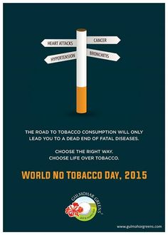 World No Tobacco Day, 2015