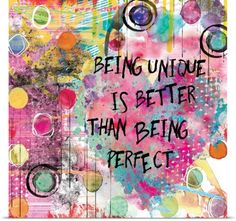 15 in. x 15 in. ''Being Unique'' Canvas Wall Art, Multicolored Art Journal Pages, Art Journals, Art Journal Backgrounds, Art Journal Covers, Art Pages, Canvas Wall Art, Wall Art Prints, Poster Prints, Canvas Prints