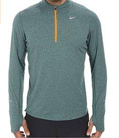 NIKE Nike Men'S Element Half Zip Running Top. #nike #cloth #