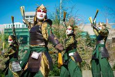 Kyoshi Warriors - Avatar #cosplay