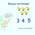 FREEBIE: Teach your students how to count with this interactive Spring SMARTboard activity. There are 3 slides in this file which will also teach simple Sp. Kindergarten Freebies, Teacher Freebies, Teaching Kindergarten, French Teaching Resources, Teaching French, Math Resources, Core French, French Immersion, Common Core Math