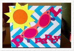 Bildergebnis für pool party einladung   Einladungen   Pinterest ...