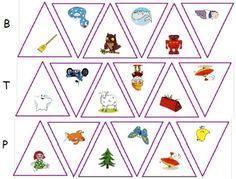 ateliers - jeux sur les confusions de sons classiques : p/t, b/d, f/v ... modulable en fonction des sons vus Conscience Phonémique, Montessori, Confused, Alphabet, Teaching, Activities, Education, Math, School
