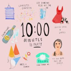 Ten minutes to party