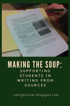 Blog post about helping students to write passage-based essays versus ...