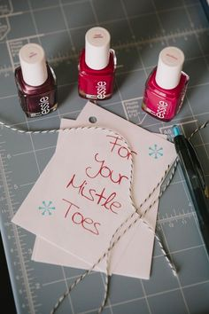 Adorable. And a great idea for a Christmas gift to friends!