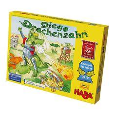 Diego, a sárkány - Dragon Diego Dart társasjáték 5 éves kortól - Haba