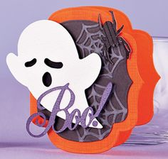 Ghostly Boo Card by Chan Vuong