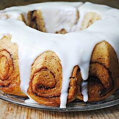 Cinnamon Bun cake makes the perfect holiday breakfast or dessert.