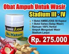 Obat wasir De Nature Indonesia untuk pemesanan silakan hubungi 0812 2711 9381