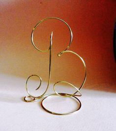 Letter L Wedding cake topper Alphabet Letter by WeddingDdecor