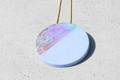 Bibe hologramos ékszer Holographic, Concrete, Pendant, Jewelry, Jewlery, Jewerly, Hang Tags, Schmuck, Pendants