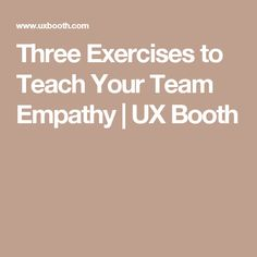 15 Best [UX] Research ○ Empathy map images in 2017 | Design