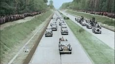 19 May 1935 - The inauguration of the first segment of the autobahn between Frankfurt and Darmstadt.