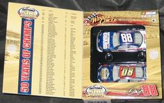 NASCAR Winner's Circle 2008 Daytona 500: 50 Years Limited Edition Two Car Set: Dale Earnhardt Jr #88 National Guard by Winners Circle. $4.95. Includes Dale Earnhardt Jr's 2008 National Guard NASCAR #88 Chevrolet Impala SS. Includes special Daytona 500 '08 car. Limited-edition two-car set. 1:64 scale. Commemorates the 50th running of the Daytona 500. This special limited-edition two-car set commemorates the 50th running the the Great American Race with 2004 winner Dale Earnhard...