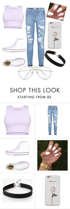 """""""Untitled #292"""" by mostpreciousjordan on Polyvore featuring Converse and Express"""