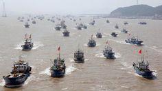 Biển đông tối 22/5: Việt Nam hoang mang khi Hàng Trăm Tàu Cá Trung Quốc ...