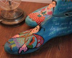 hormas de zapatos intervenidas - Buscar con Google