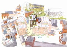 Bold Lane Masterplan in Derby by Ash Sakula Architects