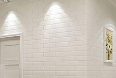 23€ Papel pintado imitación ladrillo blanco. #papel #pintado #ladrillo #blanco #imitación #pared #decoración Deskontalia Productos - Descuentos del 70%