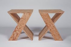 stools / tables // Michael Boyd
