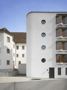 Diocesan Curia and archive | Rottenburg, Germany | Lederer Ragnarsdóttir Oei | photo © Roland Halbe