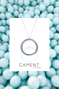 Our printed Trio Pendant, 3 interlocking rings suspended on a sterling silver chain. Short Hair Over 60, Cool Things To Buy, Stuff To Buy, Sterling Silver Chains, Fashion Accessories, Pendants, Pendant Necklace, Prints, Jewelry