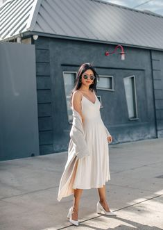 Wore this look for brunch over the weekend,. Brunch Outfit, Brunch Dress, Saturday Brunch, Preppy Outfits, Rock, Modest Fashion, Spring Summer Fashion, Ideias Fashion, Wrap Dress
