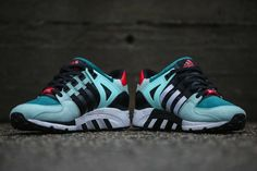 """#adidas Originals EQT Support """"Big Apple"""" by #Bait #sneakers"""