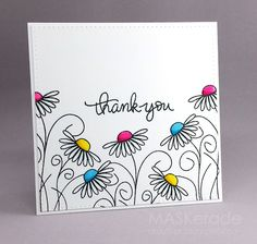 FS497 - Thank You | MASKerade | Bloglovin'... would any of my stamps work for…
