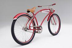 Road Candy Streamliner -based on a 1938 Men's Elgin Cool Bicycles, Cool Bikes, Powered Bicycle, Motorised Bike, Bicycle Pedals, Cruiser Bicycle, Pit Bike, Bicycle Design, Vintage Bicycles