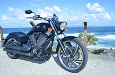 Victory Vegas 8-Ball: http://motorbikewriter.com/2014-victory-vegas-8-ball-motorcycle-review/