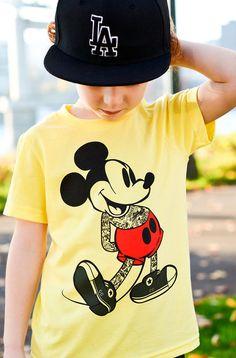 Kids Mickey Punk Tee Shirt By Hatch For Kids  NOT by HatchForKids, $0.20