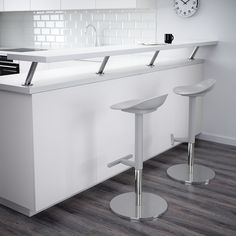 JANINGE Bar stool, gray - IKEA House Design Kitchen, Home Decor Styles, Ikea Barstools, Home Decor Kitchen, Wall Bar, White Bar Stools, Stylish Desk, Ikea, Stool