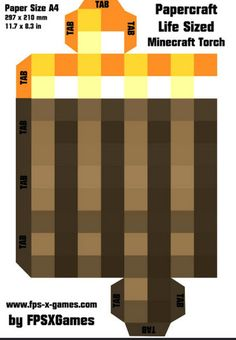 Papercraft Grasses And Minecraft On Pinterest
