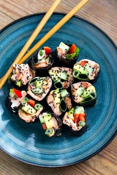 8. Salmon & Avocado Nori Rolls #greatist https://greatist.com/eat/keto-lunches-that-will-help-you-stick-to-your-resolutions