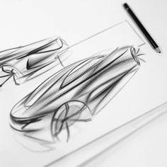 Some coupe of some sort #automotivedesign #design #sketchaday #transport #cardesign #designstudy #carsketch #concept #sketch #render…