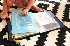 Portable Activity Kit for Little Boys - Mama.Papa.Bubba.
