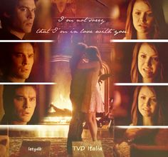 """Only if I could just freeze this moment"" Delena"