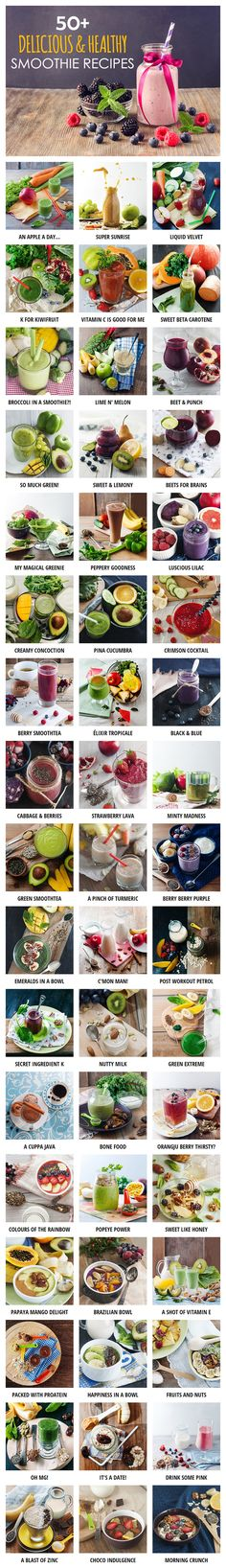 Use our healthy smoothie finder tool to discover new recipes. You can filter smoothies based on ingredients, nutrition (calories, protein etc) and category!