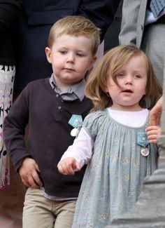 prince Christian et la princesse Isabella