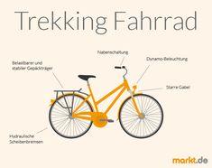 Multitalent Trekking Fahrrad | markt.de #fahrrad #trekkingfahrrad #trekking #informationen #beratung #fahrradkauf