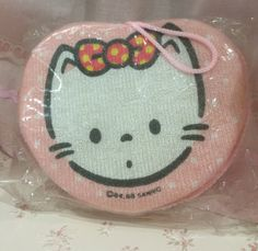 Vintage Sanrio soft sponge1985s Kawaii Cute  Accessory by TownOfMemories on Etsy