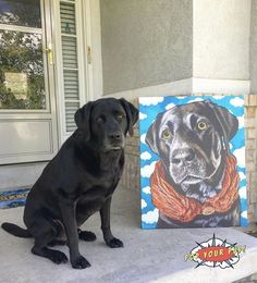Labrador Gifts: Looking for the best labrador gifts around? Our custom pet art prints are the coolest piece of home decor! If you're a lab owner who LOVES their dog, or just need some fun labrador retriever gift ideas.. come shop with us! #gifts #labradors #doglover