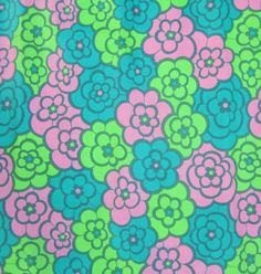 1960s fabric