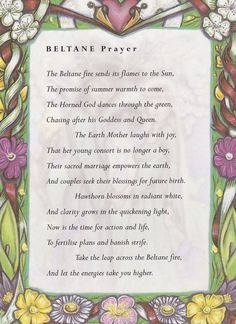 Beltane Prayer | Witches Of The Craft®