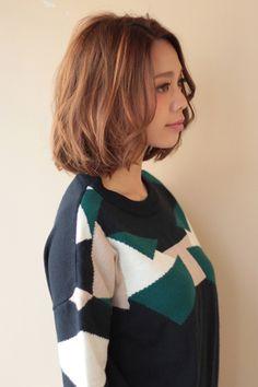 オトナかわいいボブ | AFLOAT JAPANのヘアスタイル - アフロートジャパン 【銀座の美容室】 | 関東・銀座の美容室 | Rasysa(らしさ)