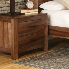 Found it at AllModern - Peyton 2 Drawer Nightstand