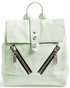 KENZO 'Kalifornia' Leather Backpack
